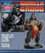 Eaglemoss DC Comics Super Hero Figurine Collection Gorilla Grodd Special